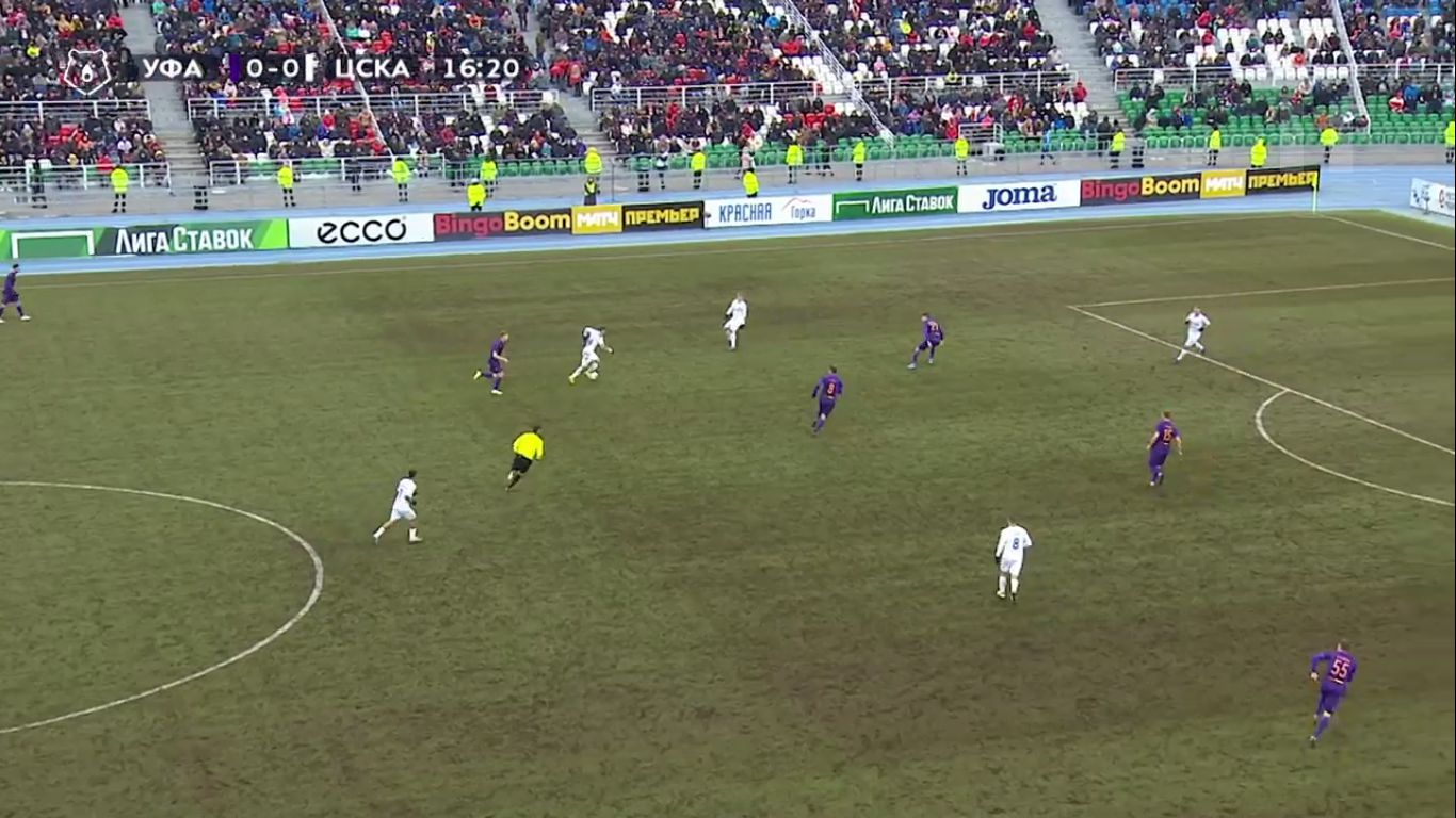 20-10-2019 - FC Ufa 1-1 CSKA Moscow