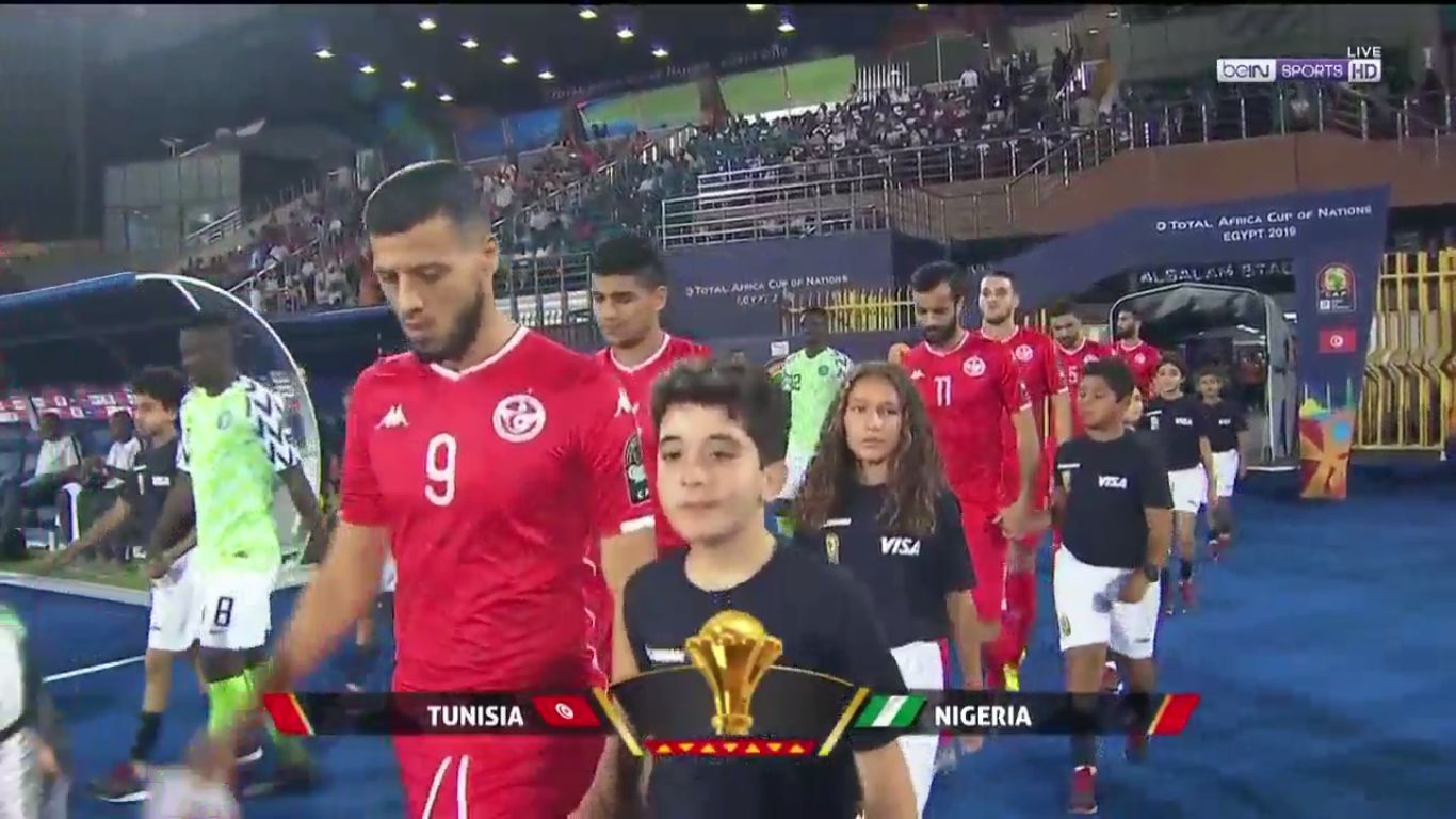 17-07-2019 - Tunisia 0-1 Nigeria (AFRICA CUP OF NATIONS)