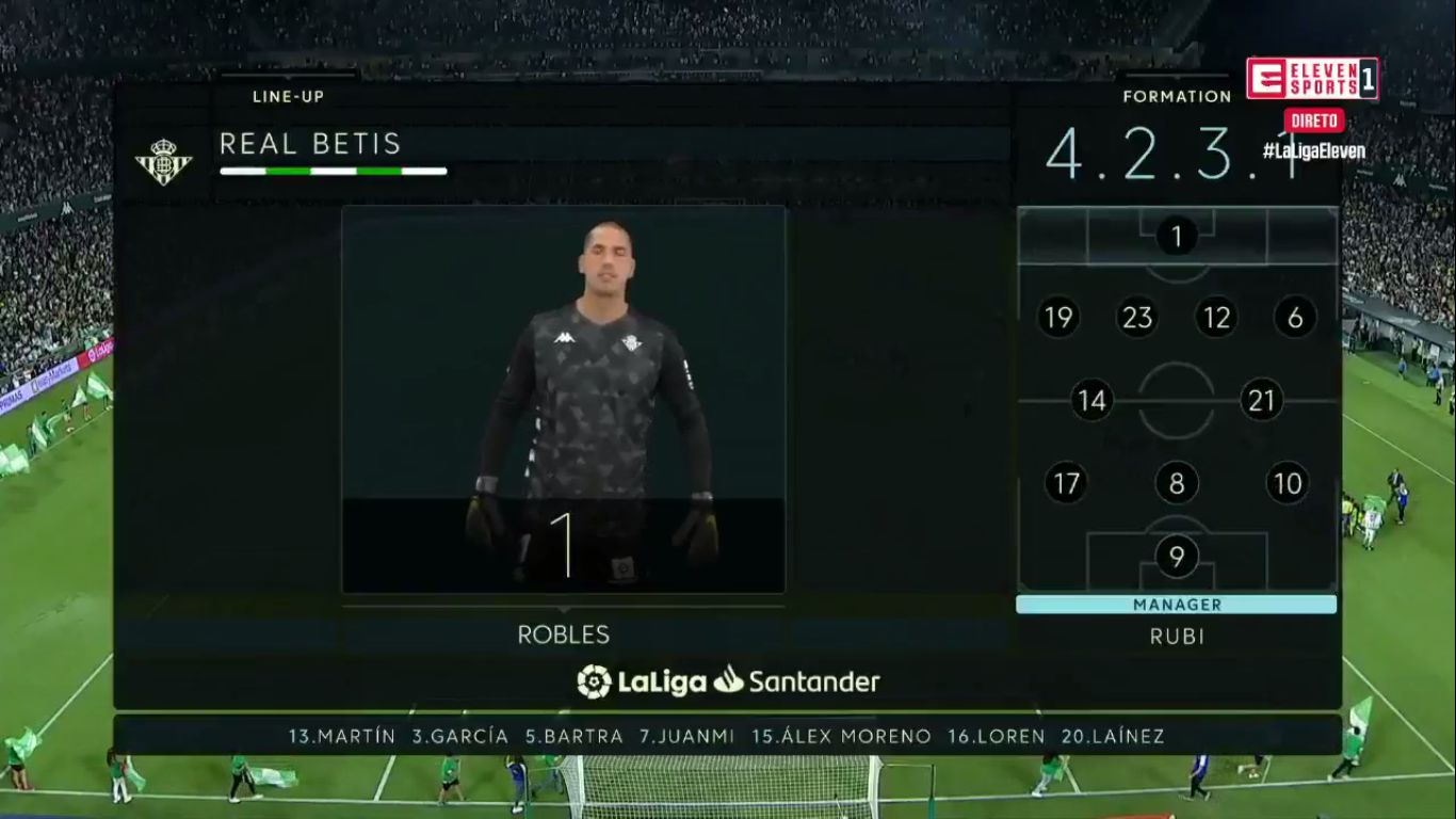 15-09-2019 - Real Betis 1-1 Getafe