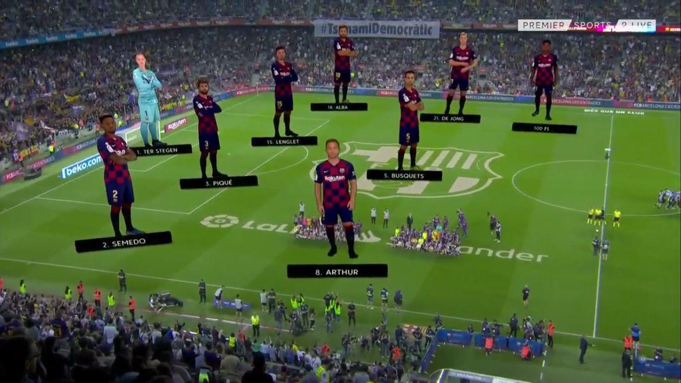 14-09-2019 - Barcelona 5-2 Valencia