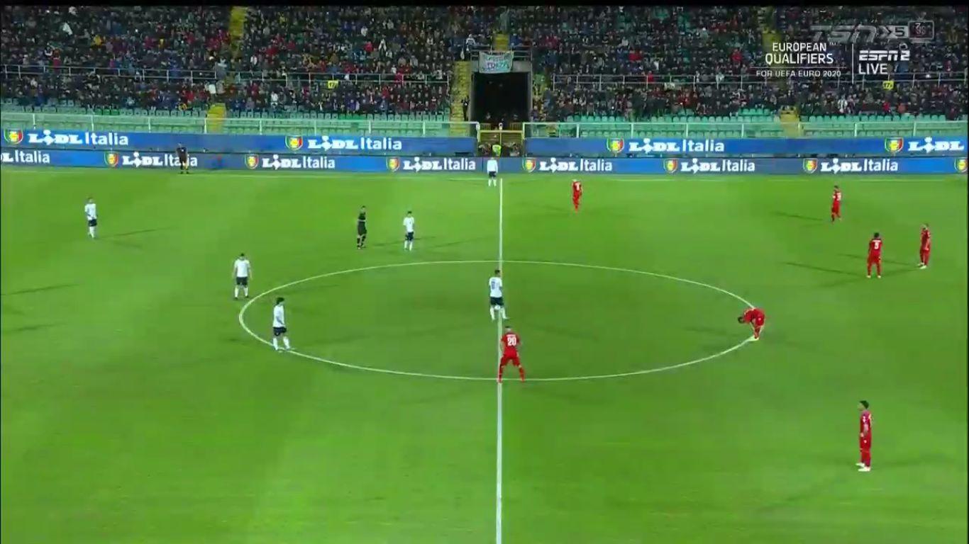 18-11-2019 - Italy 9-1 Armenia (EURO QUALIF.)