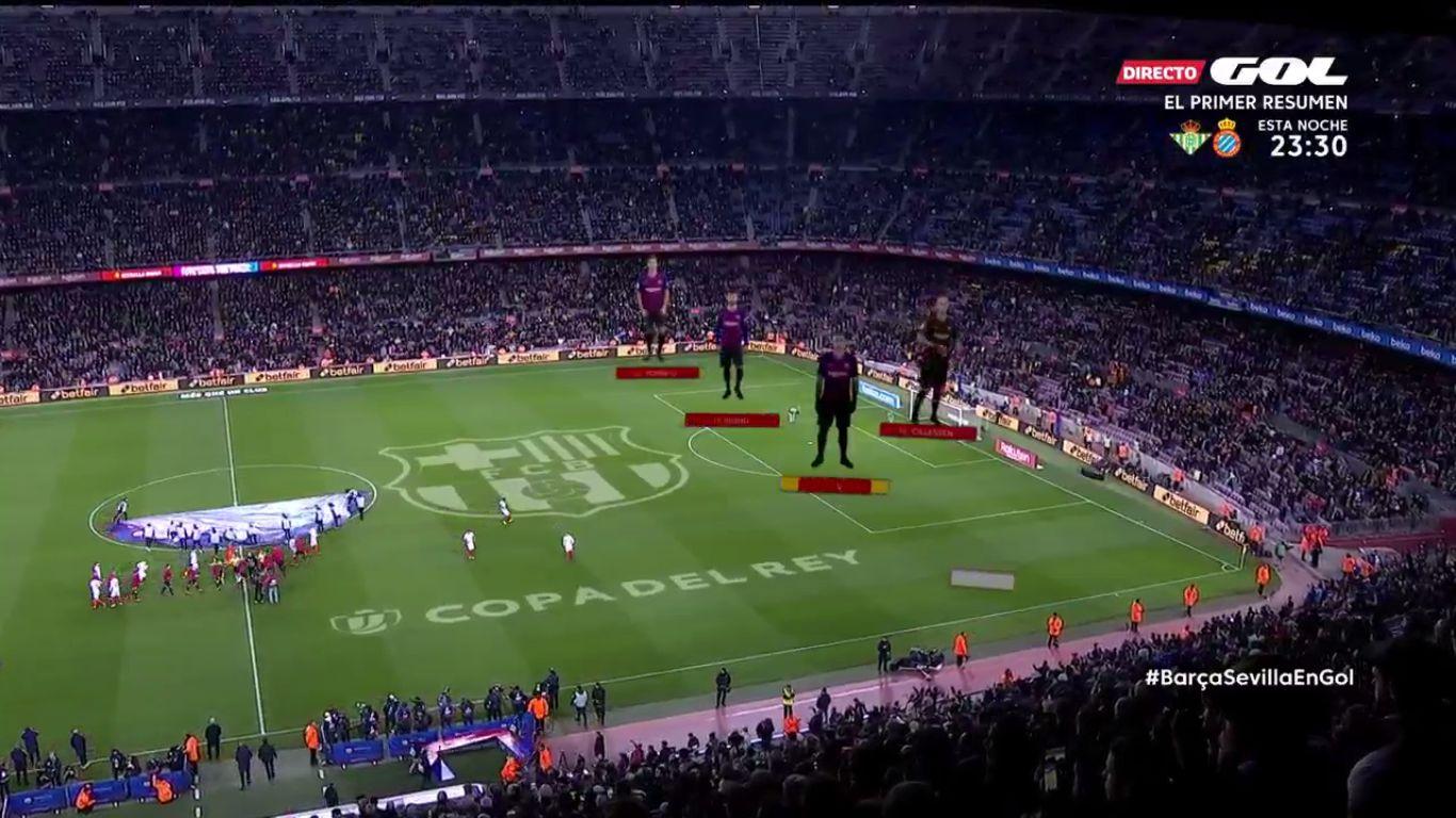 30-01-2019 - Barcelona 6-1 Sevilla (COPA DEL REY)
