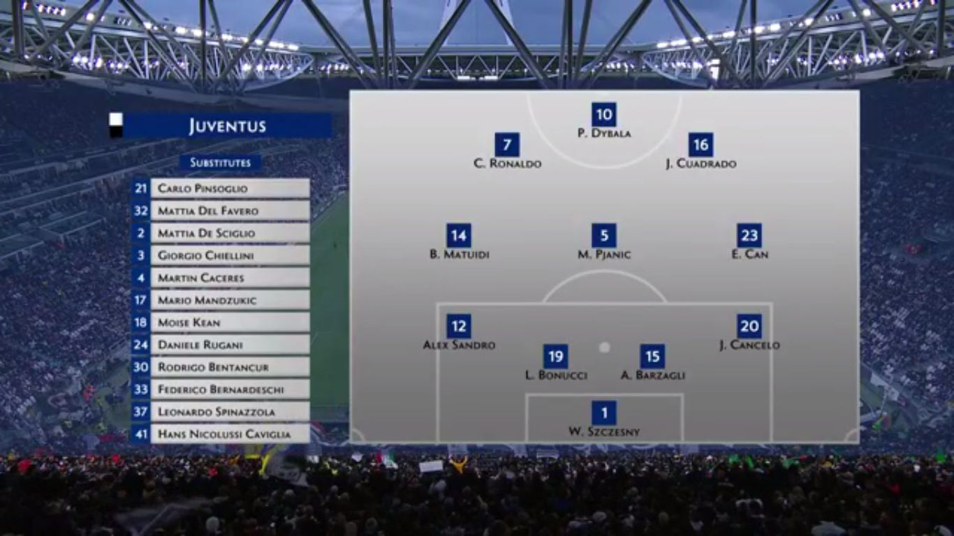 19-05-2019 - Juventus 1-1 Atalanta