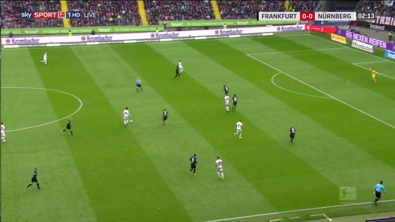 17-03-2019 - Eintracht Frankfurt 1-0 1. FC Nurnberg
