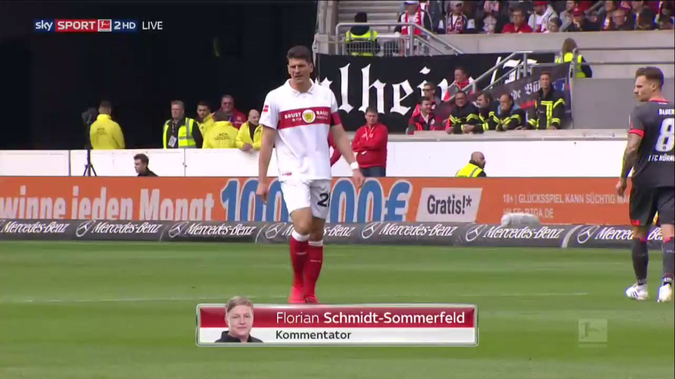06-04-2019 - VfB Stuttgart 1-1 1. FC Nurnberg