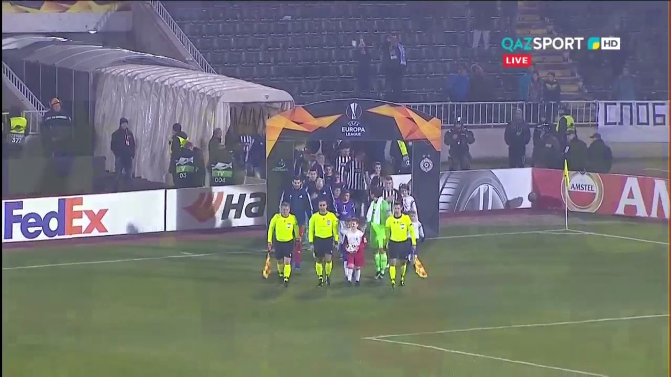 12-12-2019 - Partizan Beograd 4-1 FC Astana (EUROPA LEAGUE)