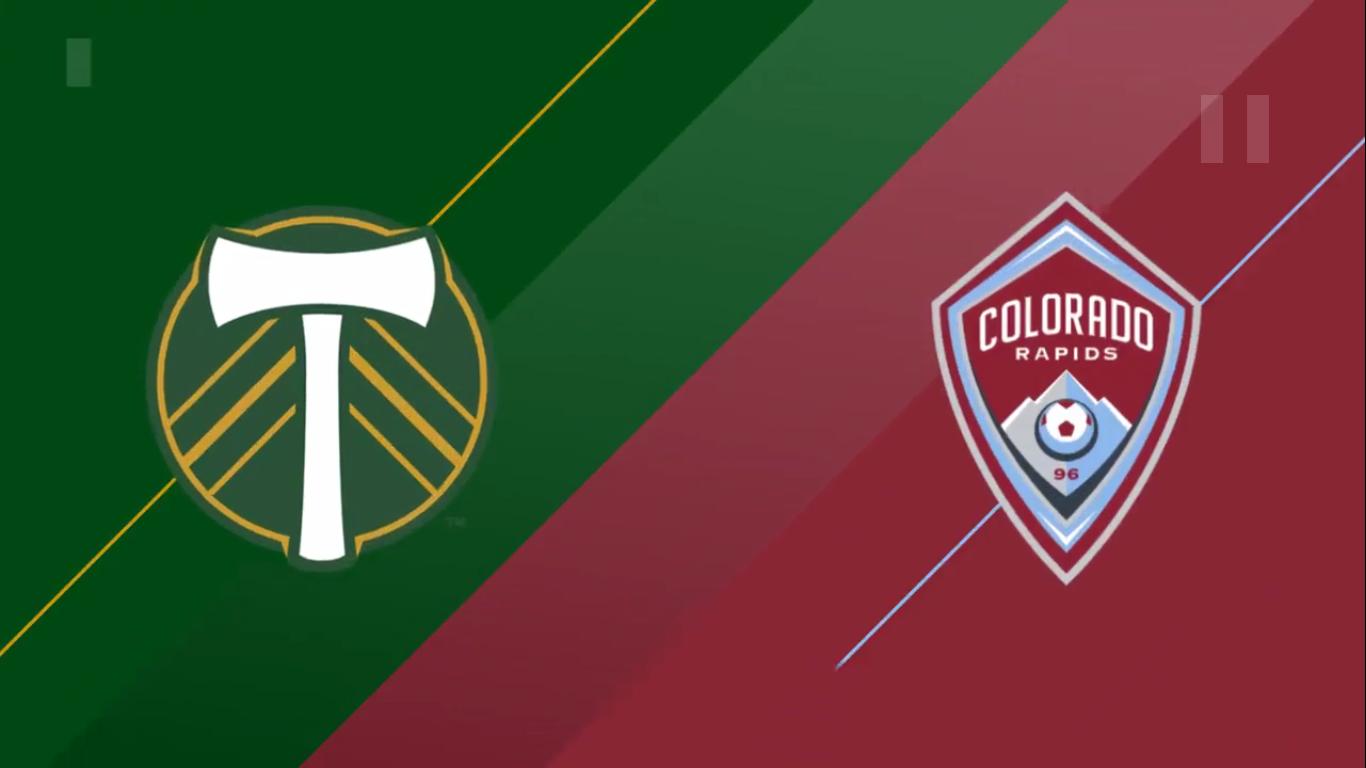 14-07-2019 - Portland Timbers 2-2 Colorado Rapids